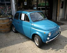 Little Car in Little Italy, The Bronx, New York City