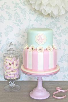 Pastel #wedding cake ideas: http://www.weddingandweddingflowers.co.uk/article/321/lookbook-pastel-wedding-cakes