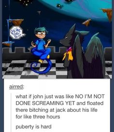 I don't understand why people overlook John, John is just the greatest. John is the only one to have faced Jack in direct combat and NOT ONLY did he come out of it alive, he bashed Jack with a hammer and gave him a silly hat. Just... JOHN EGBERT, guys.
