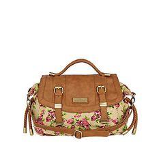 Pink floral satchel bag €18.00