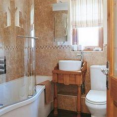 Low-Budget Bathroom Designs | Little Bathroom Inspiration | Home Design and Decorating Ideas
