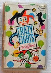 Deck Of Cards CRAZY EIGHTS Vintage 1960s Card Game Whitman Toy