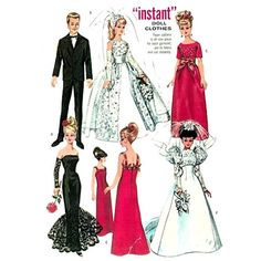 Sewing-Pattern-for-Barbie-Francie-Dolls-Clothes.jpg (600×600)