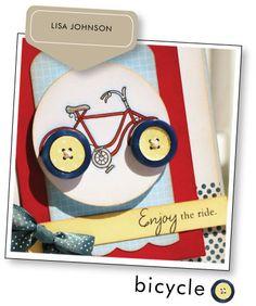 """Cartão bicicleta """"lindo"""""""