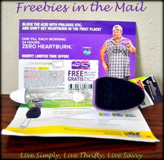 #Freebies received at the end of last week.  ✉ What's been in your mailbox lately? ✉  #Freebie #Sample #Samples