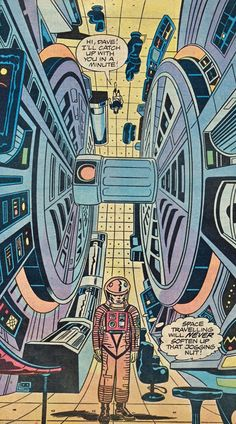 '2001: A Space Odyssey' by Jack Kirby   Dangerous Minds