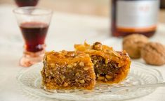 The Simplest Baklava Recipe (Greek Walnut, Pistachio and Syrup cake)