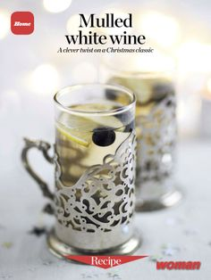 Mulled white wine. A clever twist on a Christmas classic. Download the ...