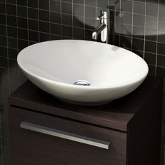 This stunning classic style Geneva counter top oval basin from Pura is a perfect addition to a luxury bathroom renovation.