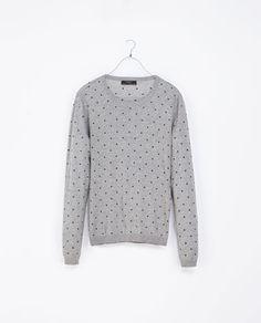 931b78b62f POLKA DOT SWEATER - Knitwear - Man - New collection