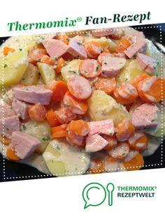 Kartoffel-Möhrengemüse mit Sahnesauce von Sweetjane07. Ein Thermomix ® Rezept aus der Kategorie Hauptgerichte mit Gemüse auf www.rezeptwelt.de, der Thermomix ® Community.