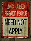SIGNS by 5 Man Electrical Band- And the sign said Long Haired Freaky People Need Not Apply I Love Music, Music Is Life, My Music, Hockey Sticks, Music Lyrics, Lyric Art, Song Quotes, Me Me Me Song, Rock Music