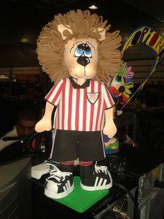 Fofu mascota del atlhetic de Bilbao.