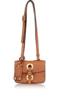 Valentino Eye On You textured-leather shoulder bag