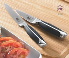 No kitchen-cutting task is too small for the Culinario Series™ Paring & Utility Knife Set!