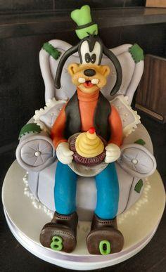 Disney's Goofy Cake by Storytellers Cakes