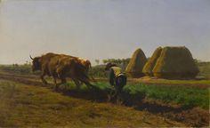 Ploughing Scene by Rosa Bonheur
