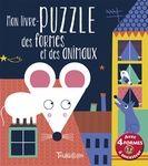 Mon livre puzzle, des formes et des animaux