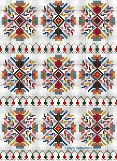 Discover thousands of images about Motif Just Cross Stitch, Cross Stitch Borders, Cross Stitch Designs, Cross Stitching, Cross Stitch Patterns, Folk Embroidery, Cross Stitch Embroidery, Embroidery Patterns, Cross Stitch Geometric