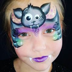 Kids face paint - My list of the most creative makeup secrets Kids Face Painting Easy, Face Painting Halloween Kids, Eye Face Painting, Halloween Makeup For Kids, Adult Face Painting, Theme Halloween, Face Painting Designs, Face Art, Body Painting