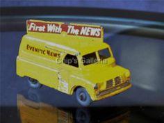 Vintage Matchbox Car 1950's Lesney England #42 Evening News Van - http://www.matchbox-lesney.com/51354