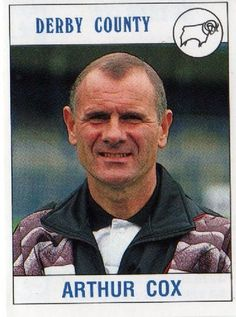 Arthur Cox - Derby County manager Football Stickers, Football Cards, Baseball Cards, Derby County, Soccer Shirts, Management, England, Collections, Museum