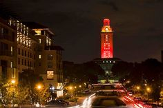 The University of Texas at Austin  A Century of Accounting Excellence    The tower will shine orange tonight to celebrate the centennial of UT McCombs School of Business's Department of Accounting