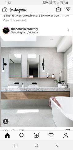 Double Vanity, Bathroom Lighting, Mirror, Furniture, Home Decor, Bathroom Light Fittings, Bathroom Vanity Lighting, Decoration Home, Room Decor