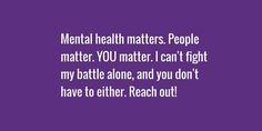 We commend the warriors who rally for those affected!  #MentalHealth #MentalHealthMatters #Quote www.colorcardsapps.com