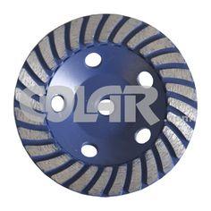 Rebolo Diamantado 125 mm - Gr 036 Para Granito - www.colar.com
