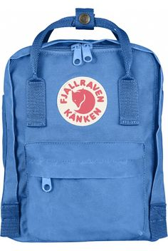 0a0088283f6f The Fjällräven Kånken Mini Backpack in Frost Green   Peach Pink was  originally designed for Swedish school children in 1978 and since has  become one of the ...
