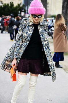 #MMissoni | Fall 2014 Collection total look | Paris Fashion Week: Day 4 | FASHIONATA