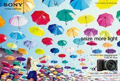 ソニー NEX-5R グローバルキャンペーン | Works | HAKUHODO Kettle Inc. #写真 #色