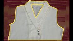 Chudidhar Neck Designs, Neck Designs For Suits, Blouse Neck Designs, Blouse Tutorial, Sewing Collars, Myanmar Dress Design, Crochet Hair Accessories, Bodice Pattern, Simple Blouse Designs