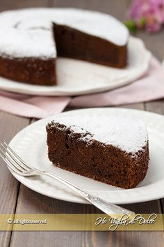 Torta ricotta e cioccolato soffice Tortilla Sana, Sweet Bakery, Breakfast Cake, Chocolate Desserts, Yummy Cakes, Sweet Recipes, Cupcake Cakes, Food And Drink, Cooking Recipes