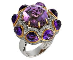 Crown Jewel Amethyst Ring from Zorab Atelier de Creation-USA, Inc.; MSRP: $7,096