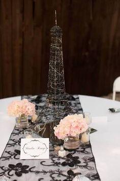 Resultado de imagen para torta torre eiffel gigante con velas