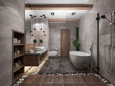 """""""Browse photos of Small Bathroom Tile Design. Find suggestions and inspiration for Small Bathroom Tile Design to enhance your house. Dream Bathrooms, Amazing Bathrooms, Spa Bathrooms, Master Bathrooms, Small Bathroom, Master Baths, Luxury Bathrooms, Bathroom Modern, Natural Bathroom"""