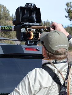 Donu0027t Go Fishing Without Your TRV Fly Fishing Rod Carrier. Our Fly Fishing  Rod Holders Fit Any Roof Rack.