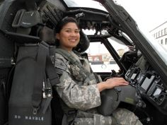 female black hawk pilot, Medevac Pilot LT Muriel Mendoza