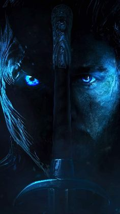 We've all finally gotten a bunch of awesome content to break down for the final season of Game of Thrones with the release of a few teasers and trailers for it now. I decided to make a poster of both the Night King and Jon Snow as they'll be Game Of Thrones Joffrey, Arte Game Of Thrones, Game Of Thrones Images, Game Of Thrones Tattoo, Game Of Thrones Episodes, Game Of Thrones Quotes, Game Of Thrones Funny, Game Of Thrones Wallpaper, Game Of Thrones Artwork