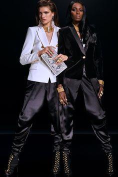 The Lookbook for the Balmain x H&M Collaboration | Vogue Paris