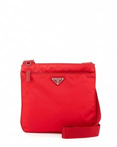 05b9f79997 Prada Vela Small Nylon Crossbody Bag