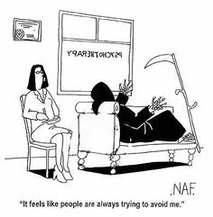 Annalists funny cartoons from CartoonStock directory - the world's largest on-line collection of cartoons and comics. Cartoon Jokes, Funny Cartoons, Funny Jokes, Memes Humor, Hilarious, Ecards Humor, Psycho Humor, Nurse Humor, Social Work Humor