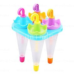 Umbrella Style Popsicle Mold Kitchen...too cute!