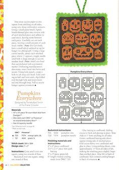 Halloween pumpkin cross stitch  Gallery.ru / Фото #40 - 793 - Yra3raza
