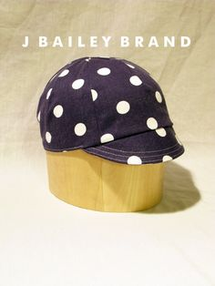 Cycling Cap // Polka Dot