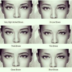 Same face just different brows.  The shape and length of yours brows, can affect the appearance of the face, nose, cheeks etc dramatically.  Follow ABBeauties on FB, Twitter and Insta xx