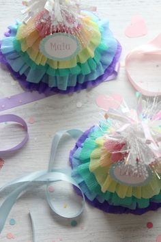 DIY Ruffle Party Hats ~ Be Different...Act Normal