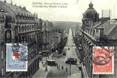 Knez Milos Street in 1934.